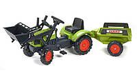 Детский трактор на педалях Falk 2040CM CLAAS Arion 410