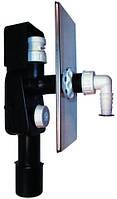 HL404.1 Сифон для стиральной и посудомоечной машины DN40/50 с вантузом - 110х225мм