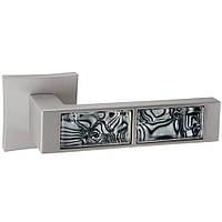 Итальянская дверная ручка Oro&Oro 203-13E PN/ Black tiger