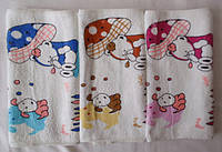 Салфетки махровые  разные расцветки 827
