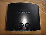 Игровая приставка двухсистемная 8 и 16 бит с памятью Titan2+400 встроенных игр, фото 4