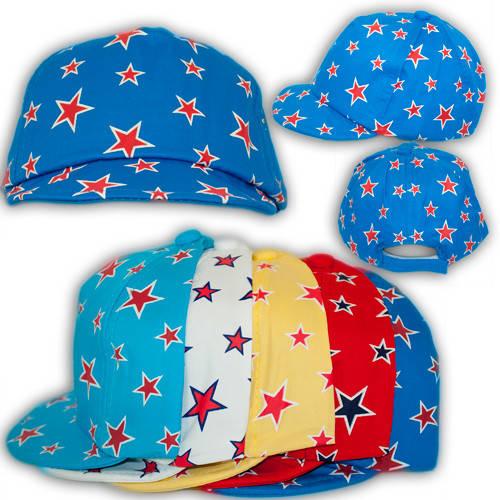 Детские кепки на липучке, с звездочками, 1705