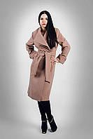 Женское пальто большого размера весеннее Д 38 Люкс