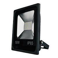Светодиодный LED SMD прожектор 50 W SLIM 3000К, 6000К