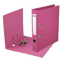 Сегрегатор регистратор А4/75 папка накопитель с двусторонним покрытием Prestige Папка-регистратор, Розовый