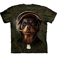 3D футболка мужская The Mountain р.S 46-48 футболки 3д (Диджей)