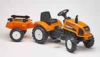 Детский педальный трактор с прицепом RENAULT CELTIS 436RX Falk 2045C