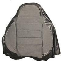 Чехлы модельные Pilot ВАЗ 2108-99/2115 кожзам черный+ткань светло-серая