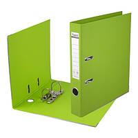 Сегрегатор регистратор А4/75 папка накопитель с двусторонним покрытием Prestige Папка-регистратор, салатовый