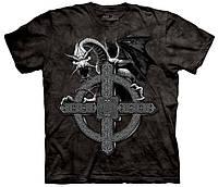 3D футболка мужская The Mountain р.S 46-48 футболки 3д (Кельтский крест)