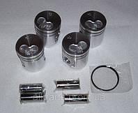Комплект поршней оригинальных с кольцами, вкладыши стандартные и первый, второй ремонт, фото 1