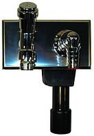 HL406 Сифон для стиральной и посудомоечной машины подключением воды и с водопроводным краном