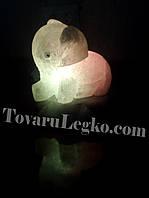 Светильник соль - Слоник (3,5 кг)