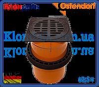 Телескопическая труба с крышкой и уплотнительной манжетой 315 с вентиляцией (12,5т) (Ostendorf)