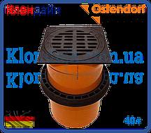 Телескопическая труба с крышкой и уплотнительной манжетой с вентиляцией 300 (40т) (Ostendorf)