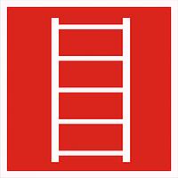 Знак Пожарная   лестница