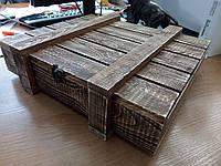 Ящик для упаковки вина подарочный