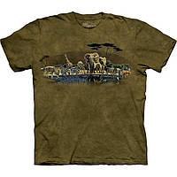 3D футболка мужская The Mountain р.M 50-52 футболки 3д (Сафари)