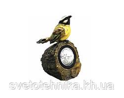 Садово-парковый светильник Feron Солар E40 Птичка 1LED бел