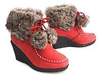 Зимние ботинки на платформе 36-41