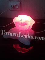 Светильник из соли - Цветок с лепестками (3,5 кг)