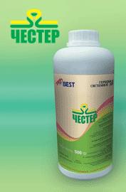 """Гербицид """"Честер"""" Никосульфурону, 750 г/кг, сресдват защиты растений"""