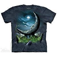 3D футболка мужская The Mountain р.S 46-48 футболки 3д (Каменный Месяц)