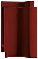 Керамическая черепица CREATON Баланс винно-красная ангоба