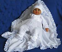 """Крещение. Крыжма """"Снежок"""". Полотенце для крещение ребенка. Уголок"""