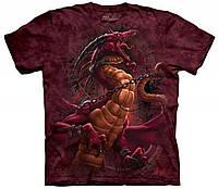 3D футболка мужская The Mountain р.S 46-48 футболки 3д (Освобожденный Дракон)