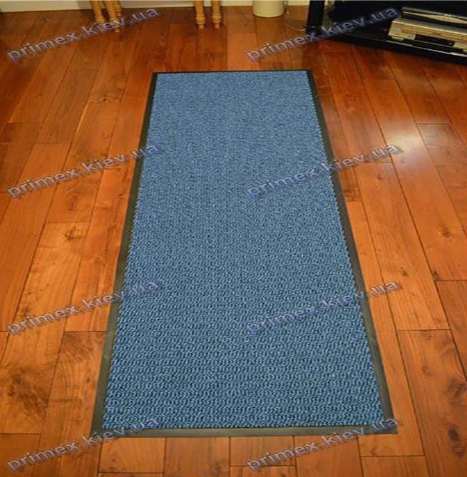 Ковер грязезащитный Стандарт 90х200см. синий