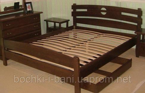 Кровать из массива ольхи, фото 2