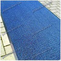 Ковер грязезащитный Стандарт 90х220см. синий