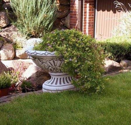 Вазон садовый для цветов «Ника» бетонный, фото 2