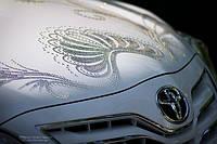 Свадьба в Днепропетровске, автомобиль swarovski Тойота Камри
