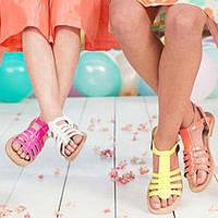 Ортопедические босоножки и сандалии для девочек