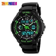 Спортивні годинник Skmei 0931 S-SHOCK Зелені