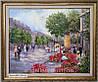 Картины маслом пейзажи (городской пейзаж живопись)