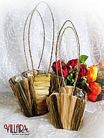 Сумочка для цветов 13*13*10см