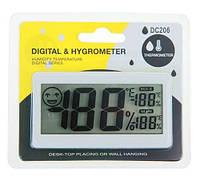 Термометр с гигрометром DC-206