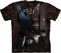 3D футболка мужская The Mountain р.S 46-48 футболки 3д (Ворон Викинга)