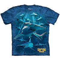 Футболка мужская The Mountain размер M 50-52 3D футболки (Акула Молот)