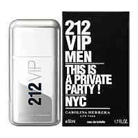 Духи мужские Carolina Herrera 212 VIP Men 50 мл, фото 1