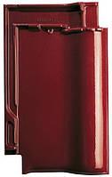 Керамическая черепица CREATON Футура винно-красная глазурь