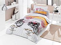 Комплект постельного белья Clasy Roadrace Ранфорс 160*220