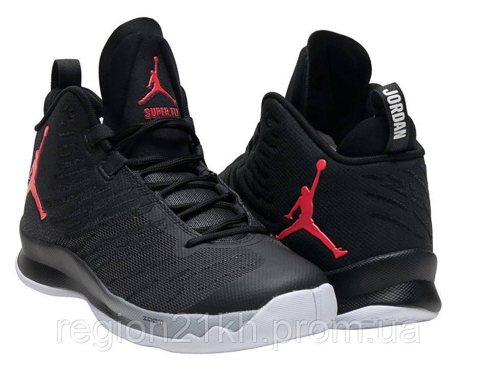 Баскетбольные кроссовки Nike Air Jordan Super Fly 5 Black - REGION21 в  Харькове 5f9d6f27272b7