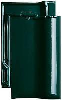 Керамическая черепица CREATON Футура темно-зеленая глазурь