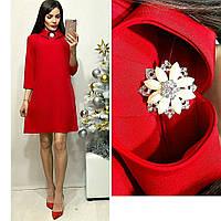 Платье женское, модель 770, красный, фото 1