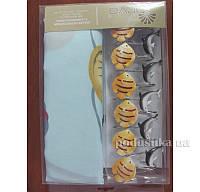 Шторка для ванной Arya Valerie Yellow Fish 180х180 см