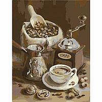 "Картины по номерам без упаковки ""Ранкова кава"", 40х50см (КНО2047)"